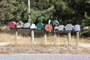 Those mail boxes still fascinate me.