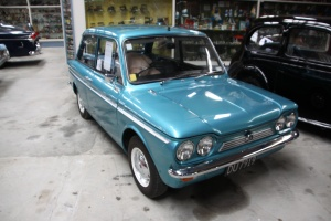 One of my first ever cars, a Hillman Imp.