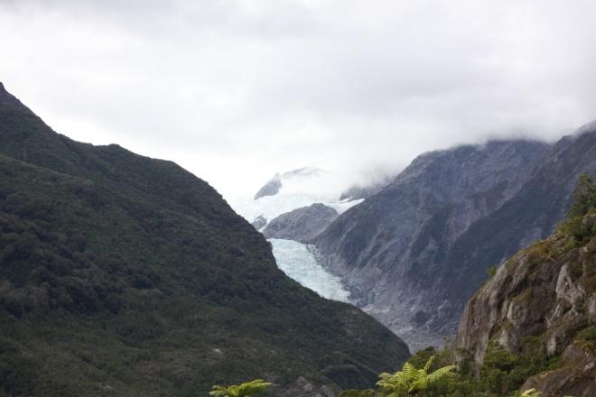 The Franz Joseph glacier.