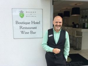 Goodbye to Darryn a real star of this hotel.