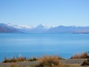 Still Lake Pukaki.