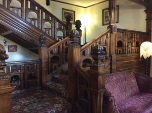 The interior of the B & B was fantastic. They have had offers by Americans to buy this staircase.