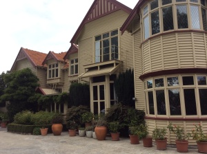 The exterior of the B& B.